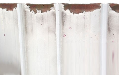Cut Edge Corrosion Rusted Roofs